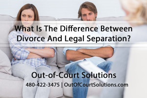 What Is The Difference Between PHX Divorce and Legal Separation?